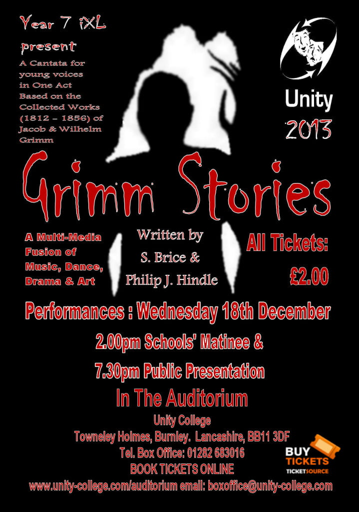 Grimm Stories 1 A4 Poster c